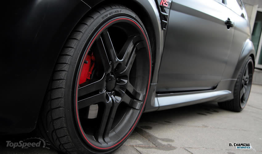 Ford Focus RS Black Racing Edition por Anderson Germany