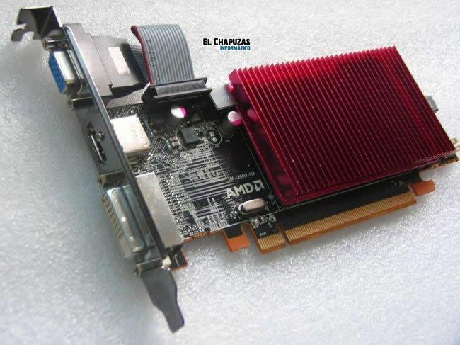 AMD 6450, lo mas sencillo se presenta sin hacer ruido