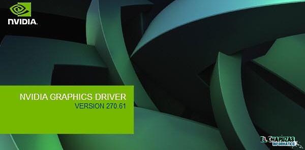 GeForce 270.61 Actualización NVIDIA GeForce 270.61 WHQL