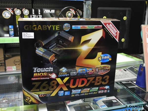 Gigabyte Z68X UD7 B3 02 0
