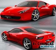 Ferrari 458 Italia y sus gadgets