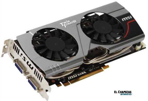 MSI GeForce GTX 560 Ti Hawk