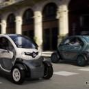 Renault presentó su vehículo eléctrico Twizy en Madrid