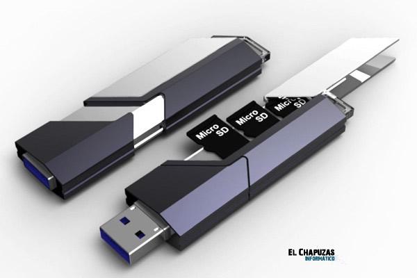 The Collector, un hipotético pendrive ampliable con el que dar una nueva vida a tus viejas microSD