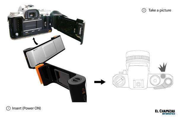 Digital Film: Un concepto con el que rejuvenecer tu vieja camara de carrete
