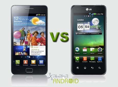 galaxy s2 vs optimus 2x 0