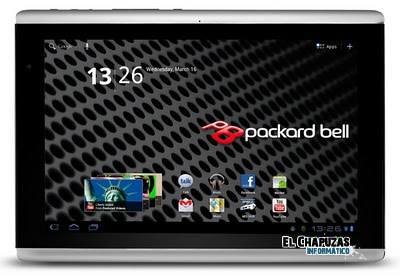 Packard Bell tambien tendra tablet Android