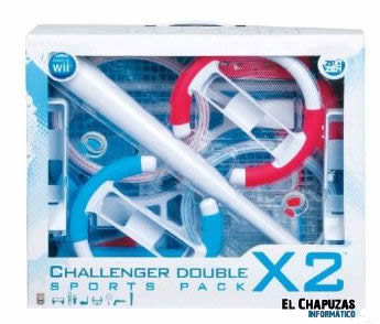 wii challenger sports pack 2x 0