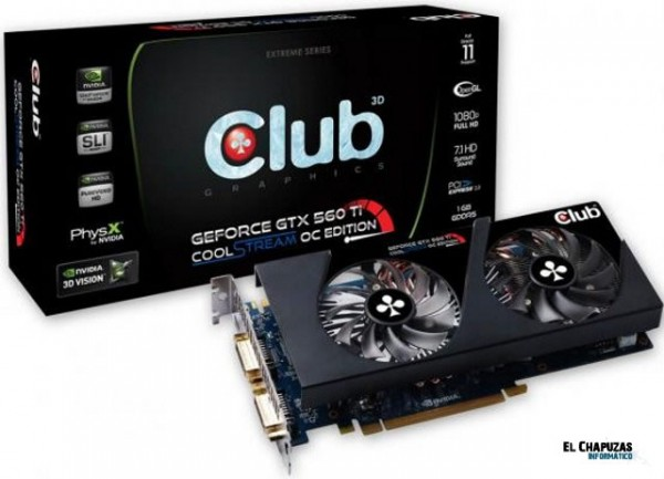 Club3D GTX560 e1304453618520 CoolMod: Distribuidor oficial de Club 3D
