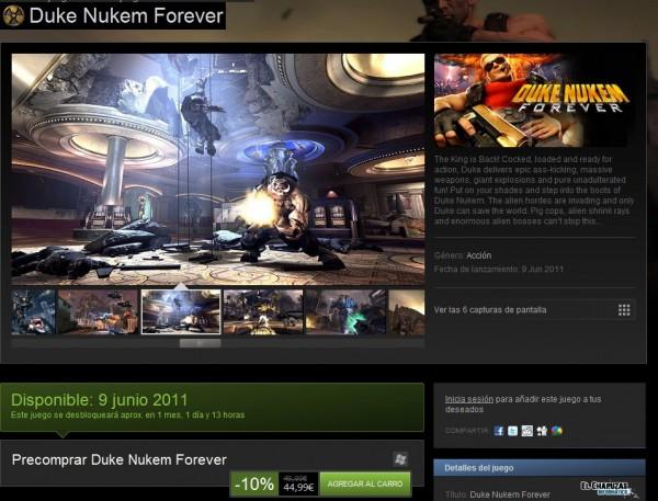 Duke Nukem Forever Steam e1305107688908 0