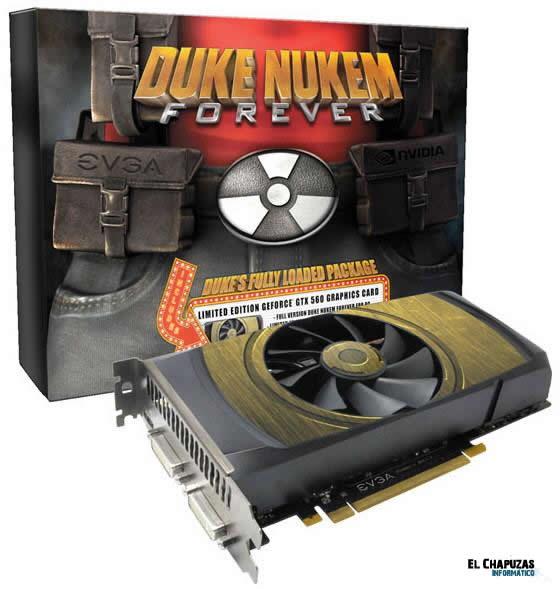 EVGA GTX560 Duke Nukem Forever 0