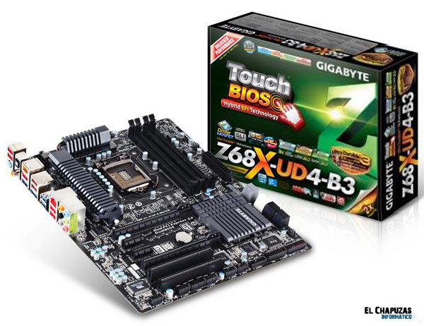 Gigabyte GA Z68X UD4 B3 1