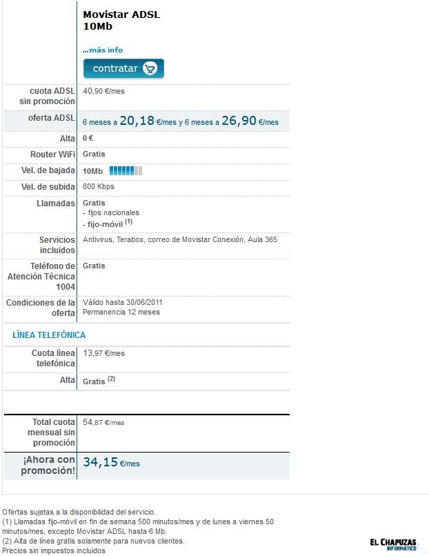 Movistar Oferta ADSL 30052011 0