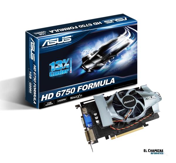 asus hd 6750 Formula 0