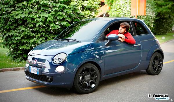 fernando alonso fiat 500 twin air Fernando Alonso protagonista en el spot del nuevo Fiat 500 Twin Air