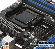 MSI 990FXA-GD65 en imágenes