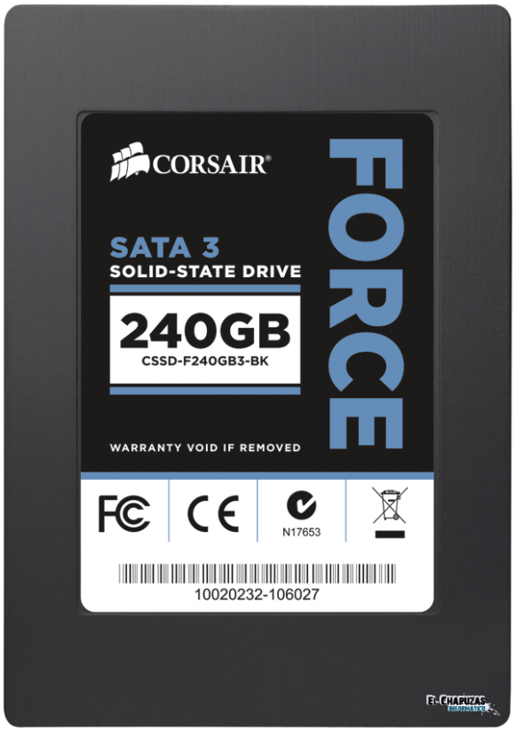 ssd f3 top 240gb e1305562945750 Corsair Force 3 ¿El Ferrari de los SSD?
