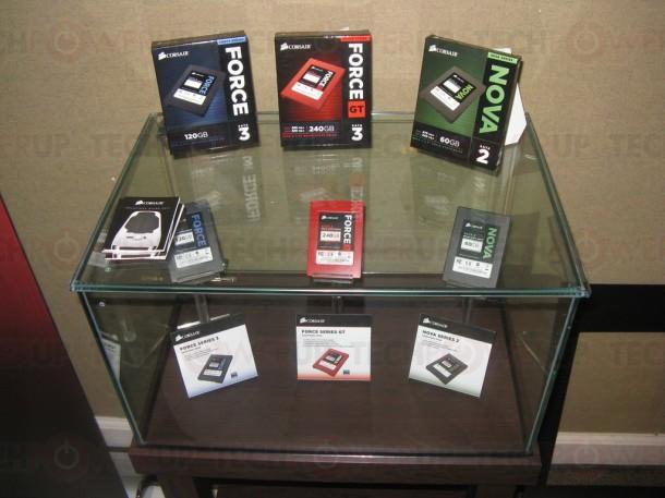 Corsair Force 3 Force 3 GT Nova 2 e1306938557613 Computex 2011: Corsair presenta sus nuevos SSD Force 3, Force 3 GT & Nova 2