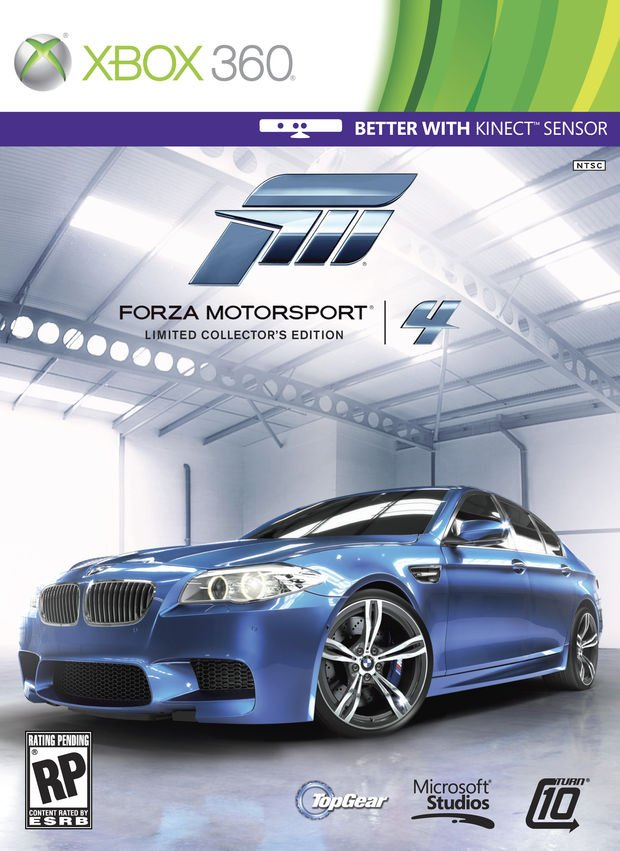 Forza Motorsport 4 Limited Collectors Edition 0