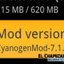 Actualización CyanogenMod 7.1.0 RC1 ya disponible