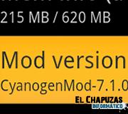 Logo CyanogenMod 7.1.0 RC1