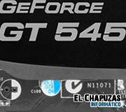 Logo EVGA GeForce GT 545