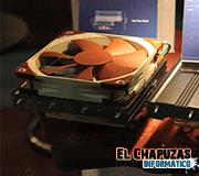 Computex 2011: Noctua presenta prototipo de disipador de bajo perfil