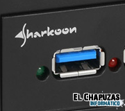 Sharkoon anuncia su panel frontal con 4 puertos USB 3.0
