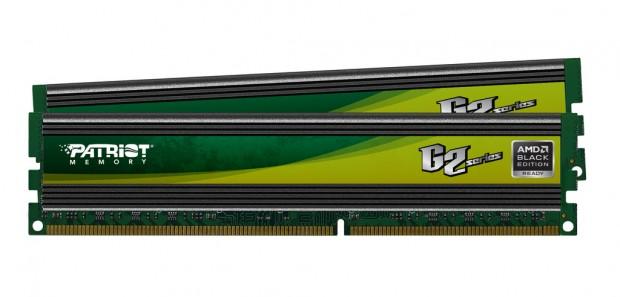 Patriot G2 Series AMD Black Edition e1308060022306 Patriot Memory anuncia los nuevos kits de memorias AMD Black Edition G2 Series