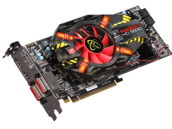 XFX ATI RADEON HD5830 800M 1GB DDR5 0