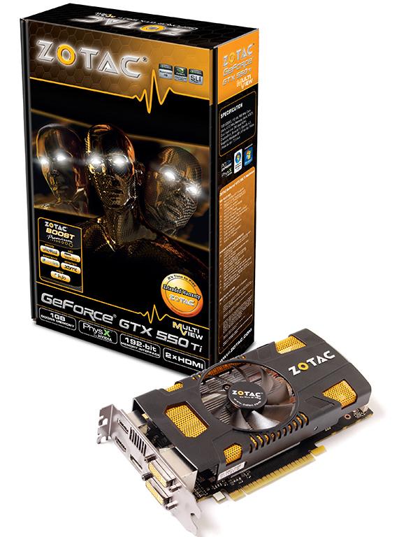 ZOTAC GeForce GTX 550 Ti Multiview 0