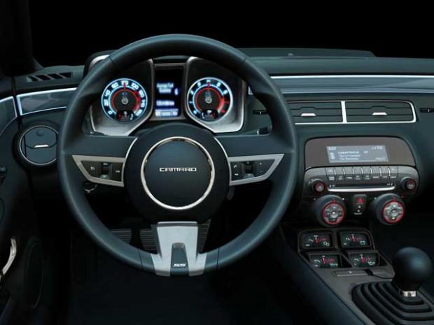 Chevrolet Camaro interior e1309875595218 Chevrolet Camaro próximamente en España