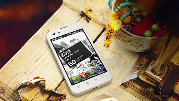 LG Optimus White Edition 1