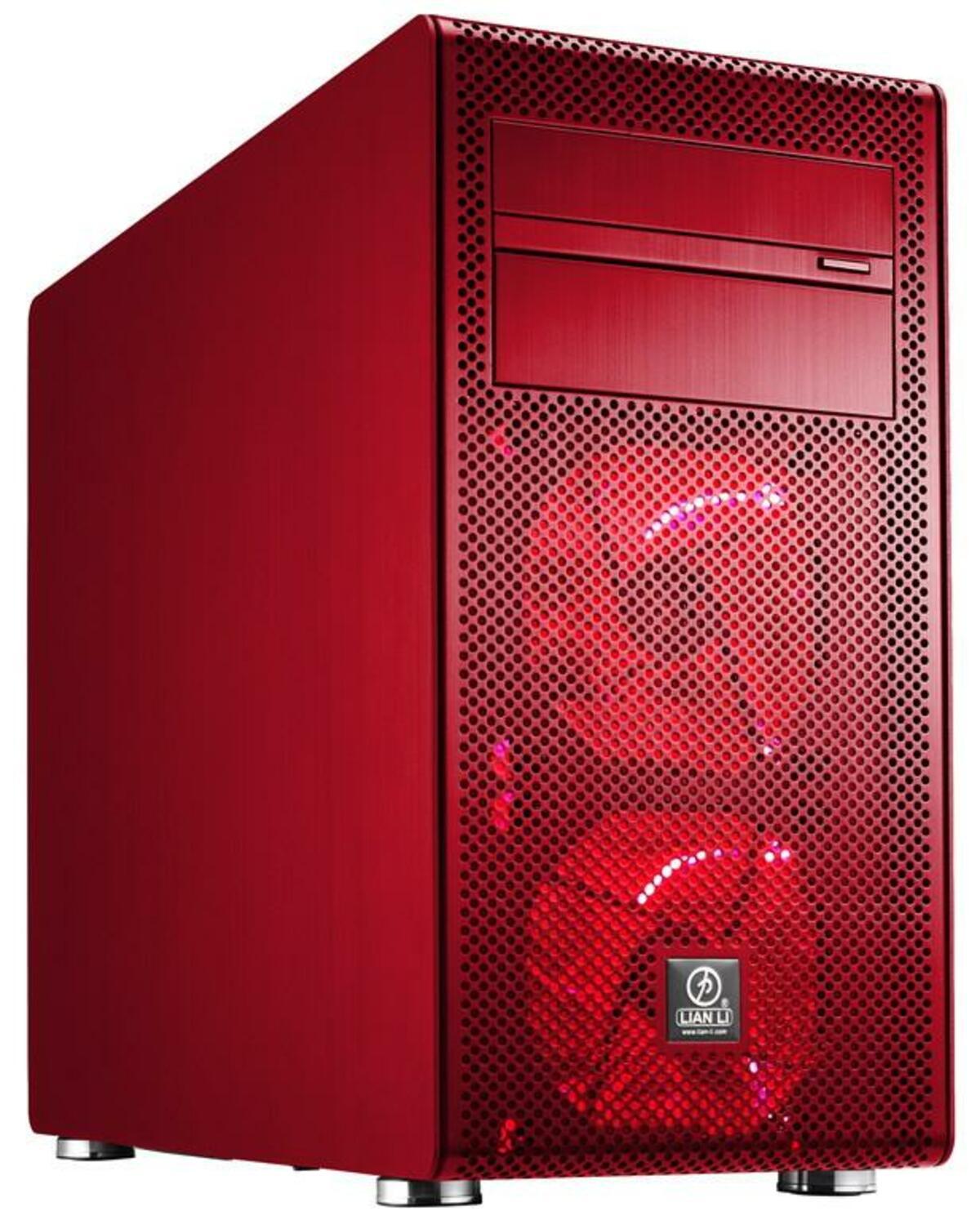Lian Li PC V600F Roja 0