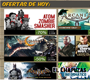 Logo Oferta Steam 7 de Julio