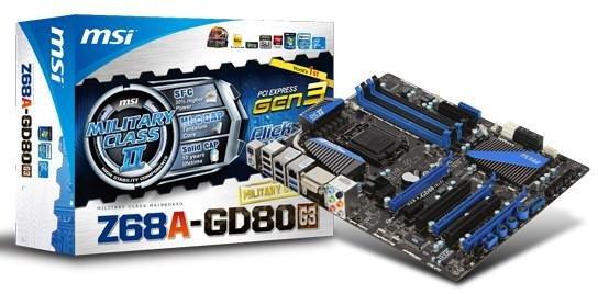 MSI Z68A GD80 G3 0