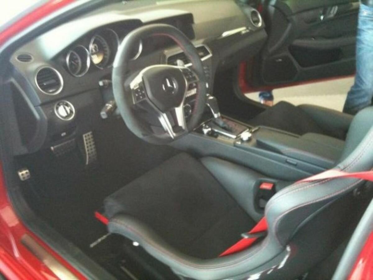 Mercedes Benz C63 AMG Black Series Interior e1310069754705 2
