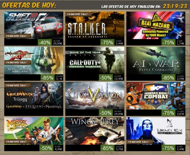 Oferta Steam 5 Julio e1309887887788 Ofertas veraniegas en Steam: Día 6