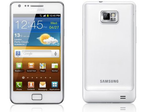 Samsung Galaxy SII Blanco 0