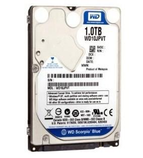 Western Digital Scorpio Blue WD10JPVT Western Digital y Seagate reducen la garantía de sus productos