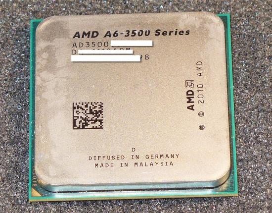 AMD A6 3500. 0