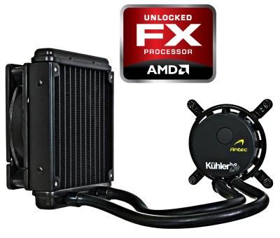 Antec Kühler H2O 620 AMD FX 0