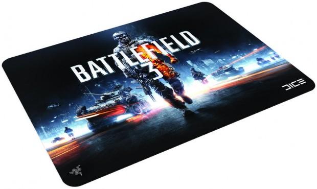 Battlefield 3 Scarab hard mouse mat 1 e1313598227774 Razer lanza un ejército de periféricos con la marca Battlefield 3
