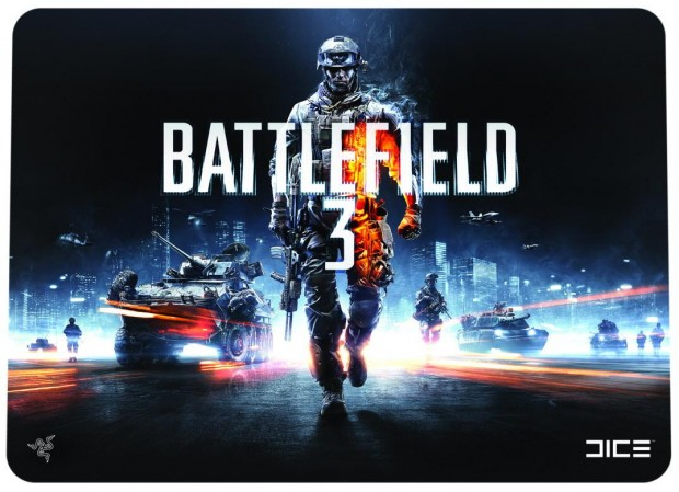 Battlefield 3 Scarab hard mouse mat