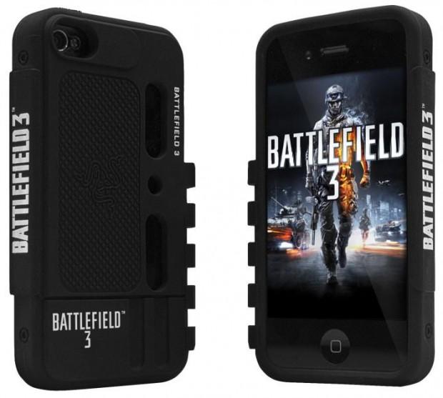 Battlefield 3 iPhone 4 Protection Case e1313598372319 Razer lanza un ejército de periféricos con la marca Battlefield 3