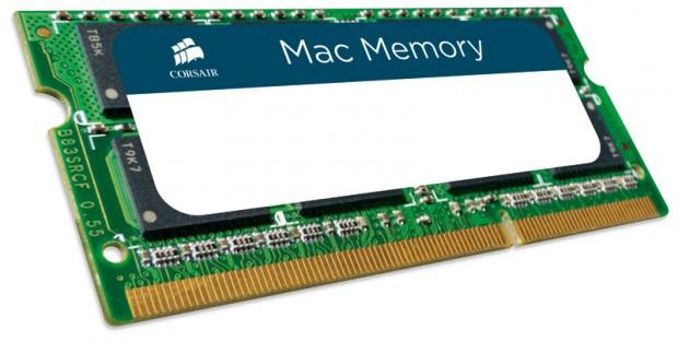 Corsair Mac Memory e1314109839831 Corsair anuncia módulos DDR3 para ordenadores de Apple