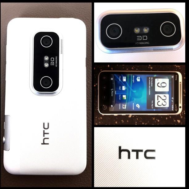 HTC EVO 3D Blanco 0