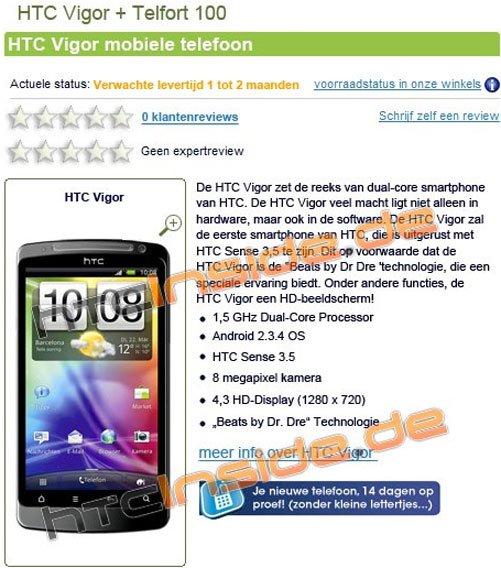 HTC Vigor 0