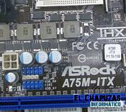 ASRock presenta su placa para AMD Llano A75M-ITX