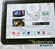Fujitsu Arrows: La tablet que no teme al agua